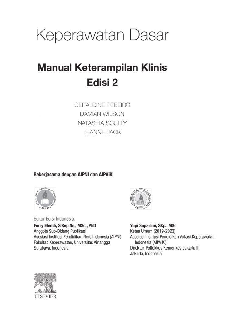 keperawatan dasar manual keperawatan klinis